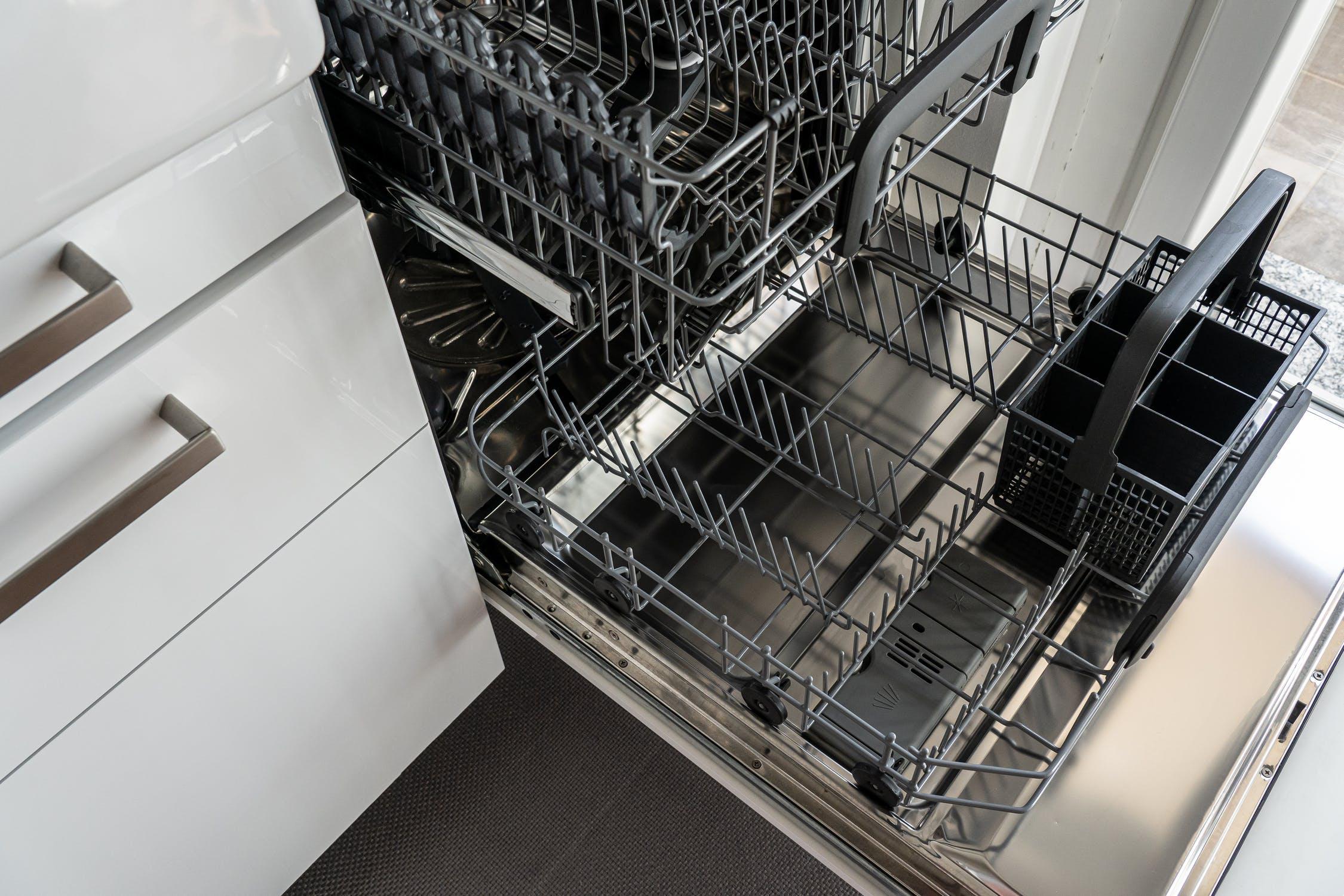 Ein Bild eines Geschirrspülmaschine